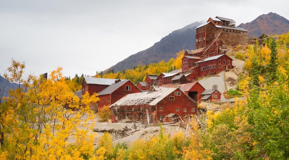 Abandoned Mining Towns Kennecott Alaska General Kinematics